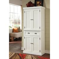 Gracewood Hollow Harjo White Distressed Finish Pantry