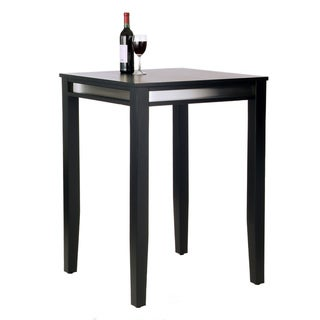 Manhattan Black Pub Table by Home Styles