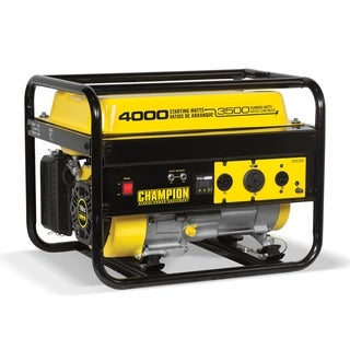 portable generators. Champion 3500-Watt RV Ready Portable Generator (CARB) Generators