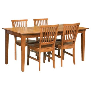 arts and crafts cottage oak 5 piece dining furniture set by home styles - Dining Room Furniture Oak