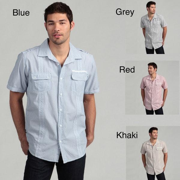 Royal Premium Men's Stripe Woven Shirt