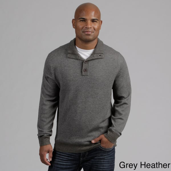 Weatherproof Men's Merino Wool/Cashmere Blend Sweater