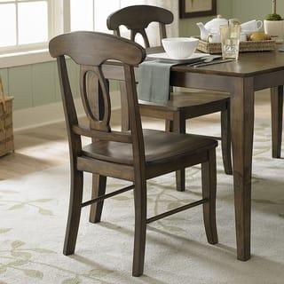 Walnut Finish Dining Room Kitchen Chairs Shop The Best Deals - Walnut dining room chairs