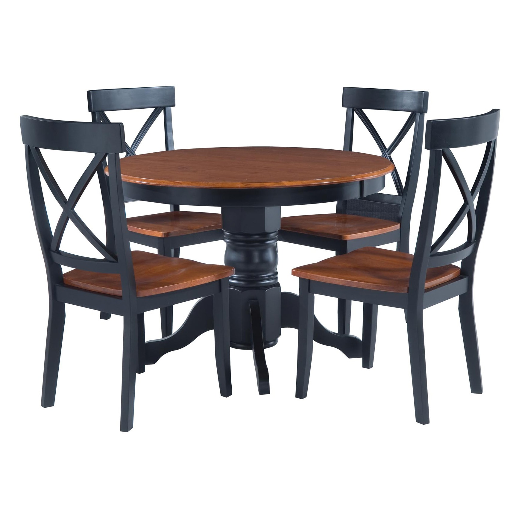 Delicieux The Gray Barn Larken Black And Oak 5 Piece Dining Furniture Set