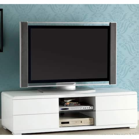 Furniture of America Hole 59-inch Multi-functional Storage TV Cabinet