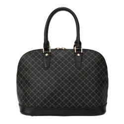 RIONI Signature Black Dome Handle Bag