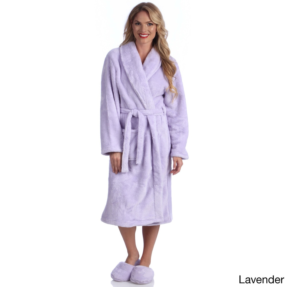 Matching robes and slippers
