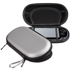 INSTEN Silver Eva Case Cover for Sony Playstation Vita