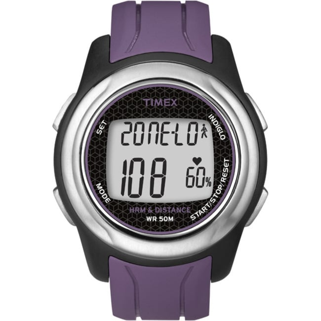 Timex T5K561F5 Unisex Health Touch Plus Heart Rate Monitor Watch