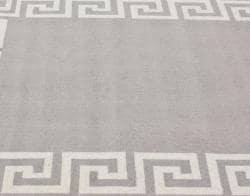 nuLOOM Handmade Greek Key Wool Rug (5' x 8') - Thumbnail 2