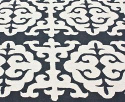 nuLOOM Handmade Marrakesh Grey Wool Rug (7'6 x 9'6) - Thumbnail 2