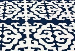 nuLOOM Handmade Marrakesh Fez Navy Wool Rug (5' x 8') - Thumbnail 2