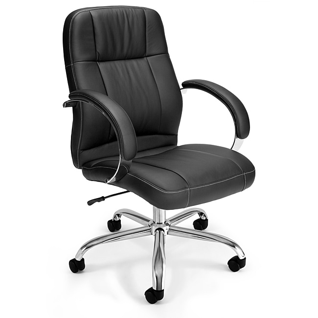 OFM Stimulus Series Synthetic Leather Mid Back Chair