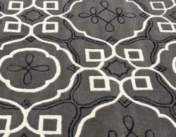 nuLOOM Handmade Moroccan Modern Trellis Wool Rug (7'6 x 9'6) - Thumbnail 2
