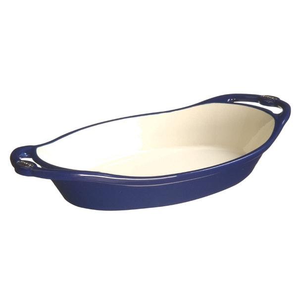 Lodge L Series Enamel 2-quart Oval Casserole Dish