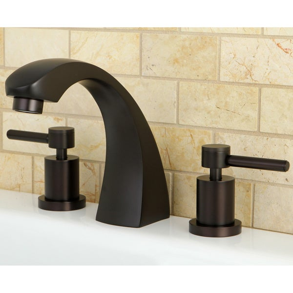Delta Oil Rubbed Bronze Bathroom Faucet Oil Rubbed Bronze Roman Tub Filler Faucet Free Shipping Today