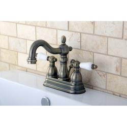 Victorian high spout vintage brass bathroom faucet free shipping today 14194940 for Victorian style bathroom faucets