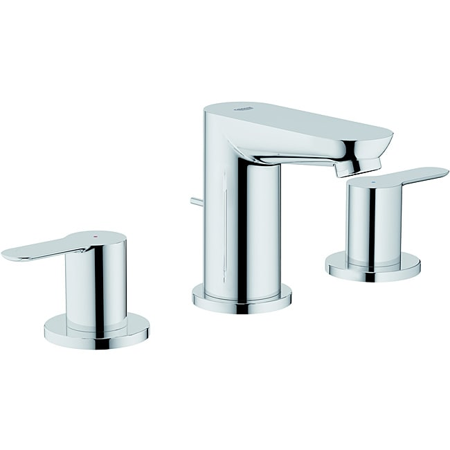 Shop Grohe Lavatory Wideset Faucet - Free Shipping Today - Overstock ...