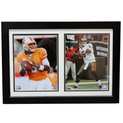 Tampa Bay Buccaneers Josh Freeman Double Photo Frame