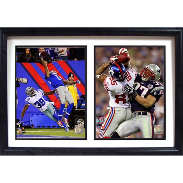 New York Giants 'The Catches' Double Photo Frame