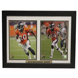 Denver Broncos Brian Dawkins and Champ Bailey 'Dynamic Duo' Double Photo Frame - Thumbnail 0