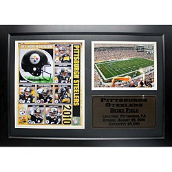 Pittsburgh Steelers 2010 Photo Stat Frame - Thumbnail 0