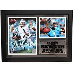 Carolina Panthers Cam Newton Photo Stat Frame