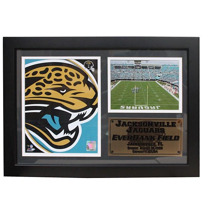 Jacksonville Jaguars Team Logo Photo Stat Frame