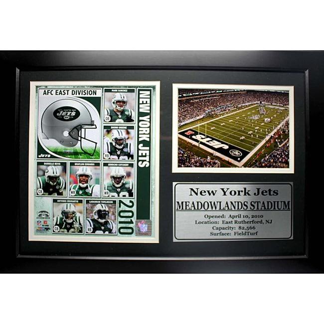 New York Jets 2010 Photo Stat Frame