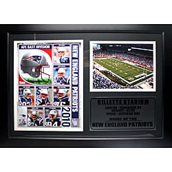 New England Patriots 2010 Photo Stat Frame