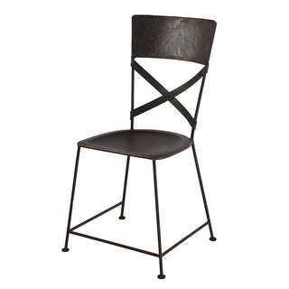 X-Back Zinc Dining Chair