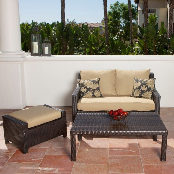 Rst delano outdoor 3 piece patio furniture set free for Outdoor furniture 0 finance