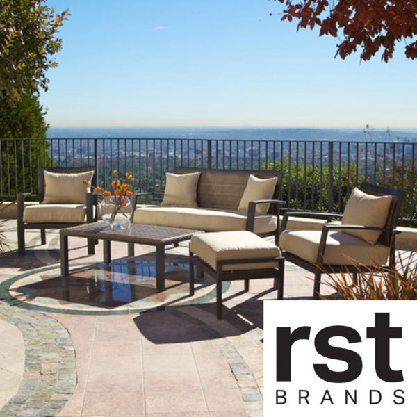 RST Brands Zen Piece Deep Seating Patio Set Free Shipping - Rst outdoor furniture