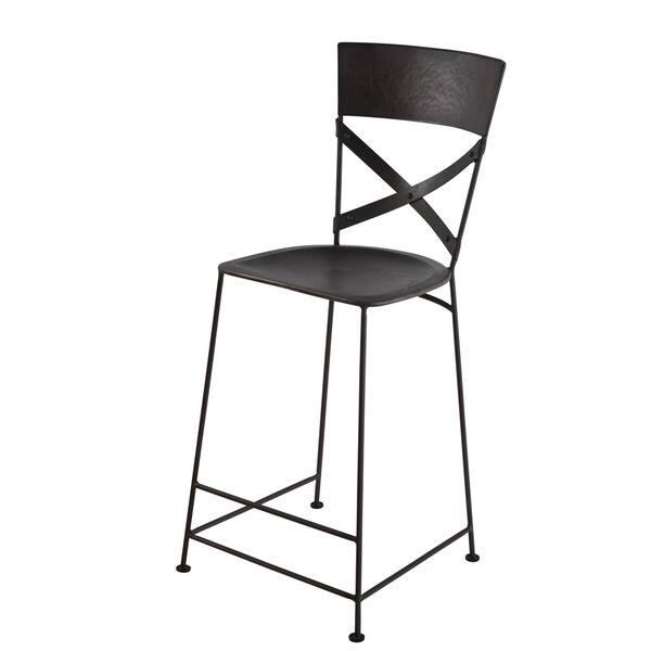Fabulous Shop Handmade X Back Zinc Counter Stool India Free Creativecarmelina Interior Chair Design Creativecarmelinacom