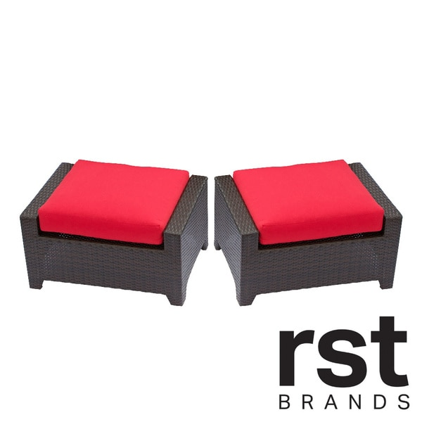 Outstanding Rst Brands Cantina 2 Piece Patio Ottoman Set Download Free Architecture Designs Embacsunscenecom