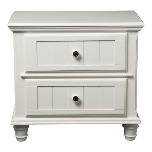 Furniture of America Transitional Wilkes Cottage Style Nightstand