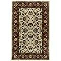 Beige Persian Hand-tufted Wool Rug (5' x 8')