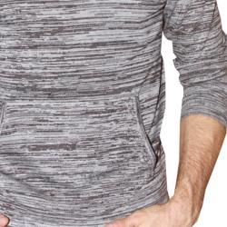 191 Unlimited Men's Grey Heathered Hoodie - Thumbnail 2