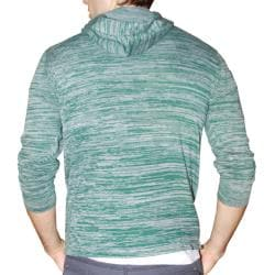 191 Unlimited Men's Green Heathered Hoodie - Thumbnail 1