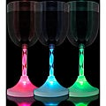 Light Up Long Spiral Stem Wine Glasses (Pack of 12)