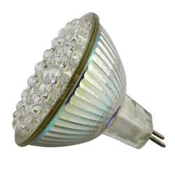 INSTEN White 48 LED 2.4 Watts MR16 Light Bulb - Thumbnail 2