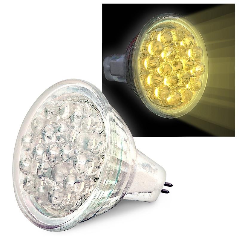 INSTEN Warm White 19 LED 0.9 Watts MR11 Light Bulb