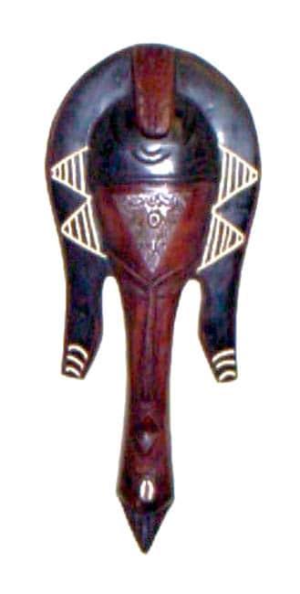 Handmade Loso Fish Mask (Ghana)