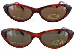 Lulu Guiness Women's L457 Cat Eye Sunglasses - Thumbnail 1