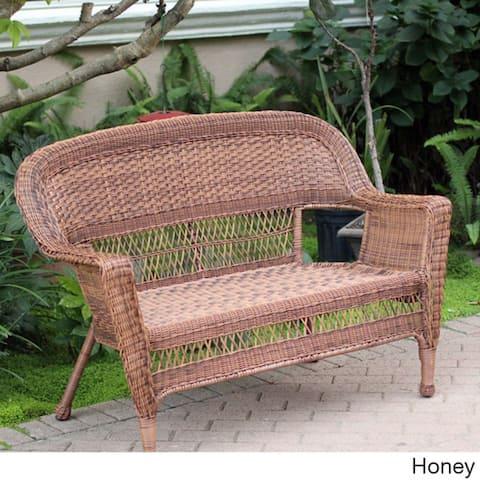 Wicker Patio Love Seat