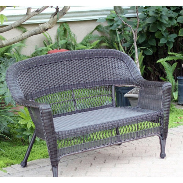Awesome Wicker Patio Love Seat