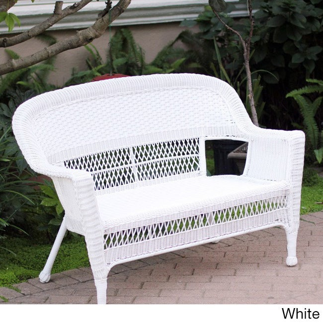 White, Wicker Patio Furniture | Find Great Outdoor Seating U0026 Dining Deals  Shopping At Overstock.com