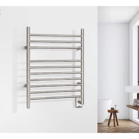 Infinity Model Hardwired Towel Warmer - Silver