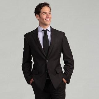 Oxford Republic Slim Fit Grey Birdseye Suit