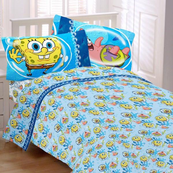 SpongeBob 'Bubble Surprise' Twin-size 3-piece Sheet Set